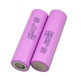 2PCS INR18650-30Q 3000mah 20A Flat Top Protected Power 18650 Li-ion-batteri för Samsung
