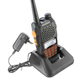 BAOFENG-UV6R Walkie Talkie 5 Watt UHF & VHF Dual Band CB Radio FM Transceiver Für Jagd