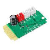 3 pcs 3 W x 2 Mini Bluetooth Módulo Receptor Com 4Ohm Alto-falantes de Amplificador de Potência Módulo de Decodificação de Placa de Áudio MP3