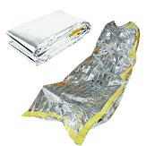 Emergency Sleeping Bag Ultralight Portable Insulation Survival Rescue Outdoor Camping Silver Blanket