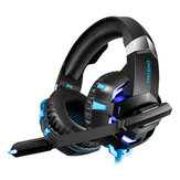 K2A Gaming 3.5mm Wired Headset Cancelación de ruido para iluminación PS4 Gaming Computer Auricular con micrófono