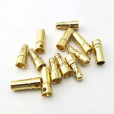 20 Pairs 5.5mm Gold Bullet Connector Banana Plug For ESC Battery Motor