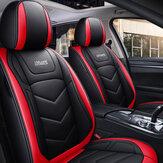 Tapete de assento dianteiro de carro universal iMars SC4 cobre almofada de couro respirável de PU Proteção total 360 °