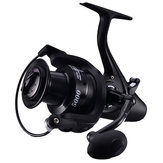 ZANLURE 12+1BB 5.1:1 Carp Fishing Feeder Reel 5000 6000 Metal Spool Reels Left Right Sea Fishing