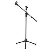 Mikrofon 150 cm Stand Holder Kąt wysięgnika Regulowany kąt z podstawą statywu