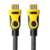 Bakeey HD 1080P HDMI Dönüştürücü Adaptör Kablosu Hız Ethernet Kablosu 3D Vedio Ses Hattı PS3 HDTV Projektör