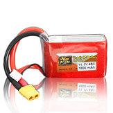 ZOP Power 11.1V 1800mAh 3S 45C Lipo Batterij XT60 Plug