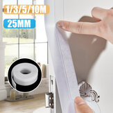 1M-10M Rubber Sealing Strip Window Self Adhesive Door Weather Stripping Tape