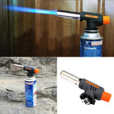 Auto Ignition Flamethrower Palnik gazowy Camping Spawanie BBQ Butan Burner Adapter