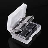 Backpacker Card Storage Case Box with 8 TF to Full-sized Memory Card Adapter