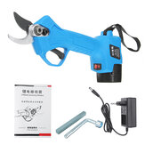 16.8V Wireless 25mm Rechargeable Electric Pruning Shears Scissors Branch Tree Cutting Trimming Tools