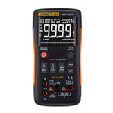 ANENG Q1 9999 Telt True RMS digitale multimeter AC DC spanningstester oranje geel
