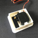 Servo Protector Servo Mount Installed Case For 9g Servo RC Airplane Model