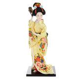 30cm Orientalny japoński brokat Kimono Kabuki Doll Gejsza Figurka Figurka Statua
