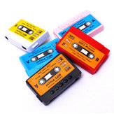Retro USB Flash Disk Cassette Mini MP3 Music Player z gniazdem kart TF