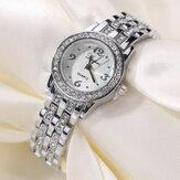 LVPAI XR1671-1 Diamond Dress Full Steel Ladies Zegarek na rękę