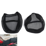 Motorcycle Black Front Rear Seat Net Covers Pad Guard Breathable For BMW R1200GS ADV 2006-2012/2013-2018