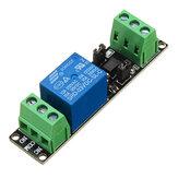 Módulo de control de accionamiento aislado de relé de 3 V 1 canal Placa de controlador de alto nivel