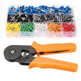 DANIU 23AWG zu 10AWG Selbsteinstellbare Ratschenzwinge Crimper Zange Werkzeug mit 800 Stücken Anschlussklemme