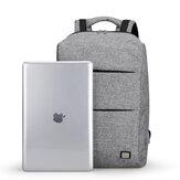 MARK RYDEN MR5911 Travel 15.6 Inches Laptop Backpsck USB Charging Waterproof Business Bag