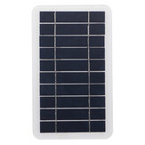 2W 5V Sunpower Solar Panel Polysilicon Solar Panel USB Charger for Outdoor Cycling Climbing Hiking Camping Traveling