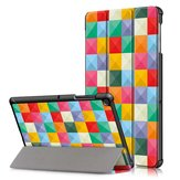Tri-Fold Pringting Pokrowiec na tablet do Samsung Galaxy Tab S5E SM-T720 SM-T725 Tablet - Cube