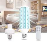 E27 AC85-265V 60W UV Dezynfekcja lampy bakteriobójczej Żarówka LED Dezynfekcja ozonem Światło z gniazdem Zdalne sterowanie