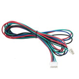 1M 4pin Stepper motor Cable XH2.54 Macho Compatible para impresora 3D