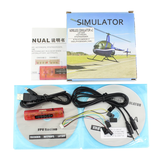 Wireless 10 in 1 RC Flight Simulator Adattatore per Realflight G5 G4 Phoenix 5.0 4.0 XTR FMS AEROFLY