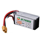 XF Power 11.1V 1500mAh 70C 3S Lipo Battery XT60 Wtyczka