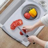 Tagliere multifunzione Eco-Friendly Paglia di grano Tagliare frutta Verdura alimentare per accessori da cucina