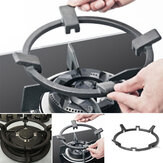 Universal Cast Iron Wok Support/Stand for Burners Fits 99% Gas Hobs and Cookers Kitchen Storage Rack