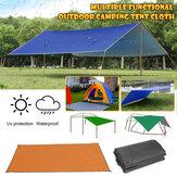 300x300cm al aire libre cámping Carpa Sombrilla Rain Sun UV Playa Toldo Toldo Refugio Playa Picnic Mat Ground Pad Carpa Sombrilla