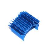 Dissipador de calor de alumínio azul do radiador do motor de TTO1 para as peças do carro de Rc do motor 540/550