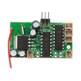 1 unid Receptor placa para WPL B1 B16 B24 B36 C14 C24 1/16 Rc Coche Piezas Original Motor sistema de sonido