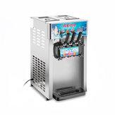 Máquina de sorvete gelado congelado comercial de 220V 1200W 3 sabor