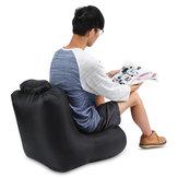 Poliester IPRee® 190T 120x60x48cm Nadmuchiwane krzesło składane powietrzem Sofa odporna na wodę Maks. Obciążenie 150kg