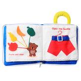 Младенческое Раннее Образование Soft Тканевые Книги Детское Изучение Деятельности Практика Руки Книги Игрушки