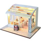 TIANYU DIY Puppe Haus TD36 Maniküre-Geschäft Kreativer moderner Laden Handgefertigt Puppe Haus mit Möbeln