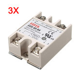 3 stuks 80A SSR-80DA Solid State Relay Module DC naar AC 24V-380V Uitgang