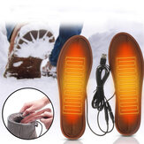 Electric Heated Shoe Insoles Carbon Fiber 3 Modes Feet Warm Sock Pad Heating Insoles Electric Heater Pads