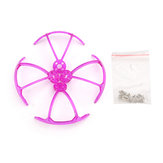 4 PCS Eachine Lizard105S FPV Racing Drone Pièce détachée Purple Propeller Guard