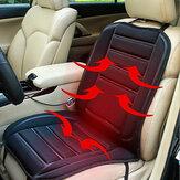 12 فولت سيارة التدفئة الكهربائية وسادة ساخنة أدفأ مقعد غطاء كرسي المنزل سادة سخان