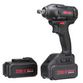 285tV 28000mAh Cordless Brushless Electric Impact Wrench 480NM LED Light W/ 1 or 2 Li-on Battery