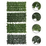 0.5M Outdoor Artificial Faux Ivy Leaf Privacy Fence Screen Decor Panels Hedge Garden Wall Cover