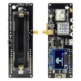 LILYGO® TTGO Meshtastic T-Beam V1.1 ESP32 868Mhz WiFi Bluetooth ESP32 GPS NEO-6M SMA 18650 Dudukan Baterai Dengan OLED