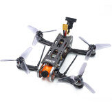 Geprc GEP-CX Cygnet 145mm 3 بوصة RC FPV Racing Drone Stable F4 20A 48CH RunCam Split Mini 2 1080P عالي الوضوح