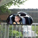 PrzyssawkaSamochódPrzedniaszybaBezpieczeństwoBaby View Mirror Dashboard Monitor dziecięcy Regulowany