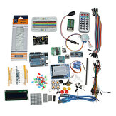 Starter Project Kits With UNO R3 Mega 2560 Nano Breadboard Kit Components Geekcreit for Arduino - products that work with official Arduino boards