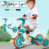 2-in-1 No Pedal Toddler Balance Bike Twist Car Balance Exercise for Ages 6-12 months Kids Rid-on Toy Gift